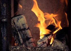 Droog brandhout